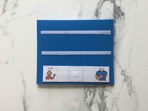 PECS/Boardmaker A5 Communication folder for autism/ASD/ADHD/SEN/stroke/Aspergers