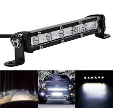 "7"" 18W Cree Led Work Lights Bar Flood Spot For Suv Boat Driving Lamp Offroad 4WD"