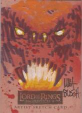 "Lord of the Rings Masterpieces II - Matt Busch ""Balrog"" Sketch Card"