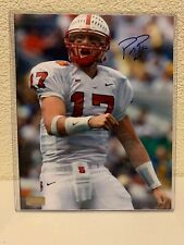 Philip Rivers Signed NC State Wolfpack 8x10 Photo GA
