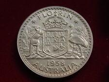 Australia . 1958 Florin..  Proof..   Mintage - 1506