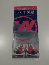 Northwest Airlines Timetable  December 15, 1992 =