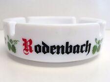 Rodenbach Beer Ashtray Alexander, Grand Cru - 1970's White Glass