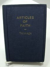 ARTICLES OF FAITH James E Talmage Vintage Collectable Mormon LDS HB Blue 1949