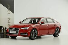 1:18 faw Audi 2017 A4 L Quattro Extended for China Red Dealer Edition