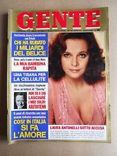 GENTE n°22 1976 Laura Antonelli Gabriella Ferri NinO Benvenuti   [G685B]