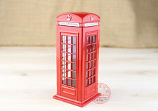 England London Red Phone Box Telephone Booth Kiosk Coin Money Saving Piggy Bank