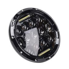7'' 75W Motorcycle LED Headlight H4 HIGH LOW Beam for Harley Jeep CJ TJ JK 07-15