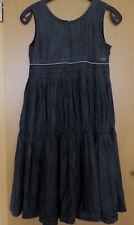Barbara Farber Mädchen Kleid anthrazit Gr. 152 neuwertig