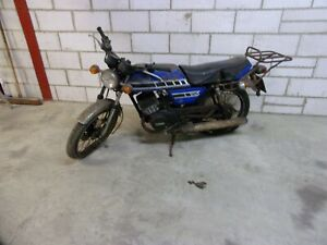 YAMAHA RD125 BARN FIND RESTORATION PROJECT