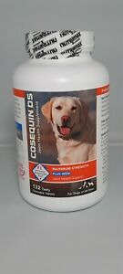 Cosequin DS Maximum Strength Plus MSM *New and Sealed *132 Chewable Tablets