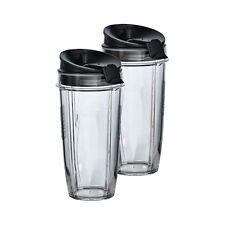 Nutri Ninja® Two 24 oz. Tritan™ Cups with two Sip & Seal Lids®