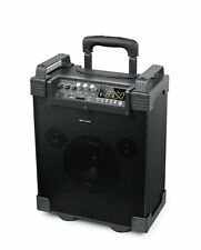 Muse M-19 Rechargeable Bluetooth Trolley Amp Speaker MP3 USB SD AUX Mic 100W