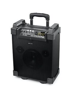 Muse M-19 Bluetooth Trolley Amp Speaker MP3 USB SD AUX Mic 100W Mains Power Only