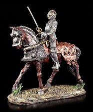 CABALLERO Figura - Kavalier sobre caballo - FANTASY EDAD MEDIA GUERRERO Estatua