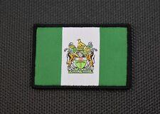 Rhodesia Flag Woven Morale Patch Selous Scouts C Squadron SAS RSF Pamwe Chete