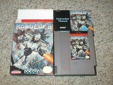 RoboCop 3 (Nintendo Entertainment System NES, 1992) Complete in Box GOOD