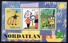 "Faroe Islands Mnh 1996 Sg314 ""Nordatlantex 96"""