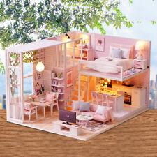 1:24 Casa delle bambole in miniatura in legno fai-da-te - Kit per lavori