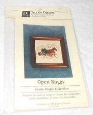 "Douglas Designs ""Open Buggy"" Gentle People Cross Stitch Kit - NEW, Sealed"