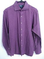Polo Ralph Lauren Regent Custom Fit Mens Size Large 16 1/2 Button Up Dress Shirt