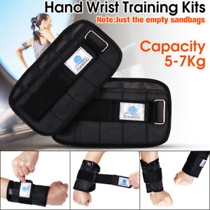 5-7kg Adjustable Hand Wrist Arm Weight Gym Exercise Boxing Training Sports Gym