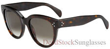 BABY AUDREY Sunglasses BROWN womens oversized round designer large big xl 41755
