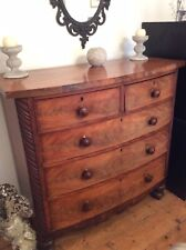 victorian mahogany chest of drawers