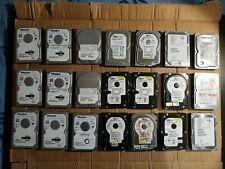 """Lot de 24 Disques durs 3.5'"""" 80 Gb Sata - Maxtor / WD / Hitachi / Seagate"""
