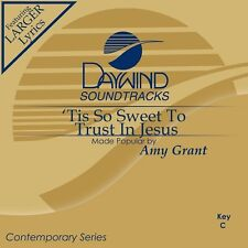 Amy Grant -Tis So Sweet To Trust In Jesus - Accompaniment/Performance Track– New