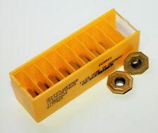 KENNAMETAL Carbide Milling Inserts, #OFKT07L6AFENGB KCSM40 (Lot of 10)