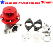 38mm (Red) Universal Bolt-on External Turbo Exhaust Manifold Wastegate