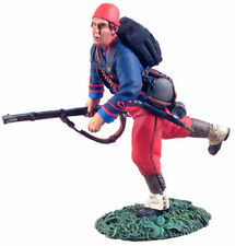 BRITAINS 31104 Union Infantry 114th Pennsylvania Zouaves Advancing at Trail #1