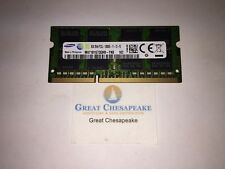 Samsung M471B1G73QH0-YK0 8GB PC3L-12800S Laptop Memory Module DDR3 TESTED!
