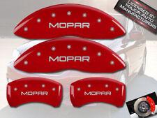 2003-2009 Chrysler PT Cruiser Turbo Front Rear Red MGP Brake Caliper Cover Mopar