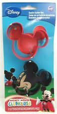 Lot of 2 Wilton Disney Mickey Mouse Clubhouse Cookie Cutters New on Card