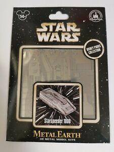 Star Wars Metal Earth model kit Starspeeder 1000 Disney Park Exclusive