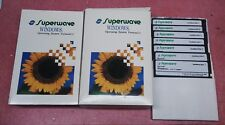 Superwave Windows 3.1 Complete Operating System Manuals and Disks