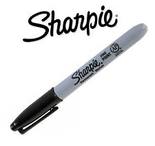 SHARPIE Black Permanent FINE Point Bullet Tip Marker Pens - Multiple Quantities