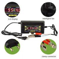 Auto Car Battery Smart Charger 12V 6A Wet Dry Lead Acid Digital LCD EU/US Plug
