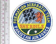 Aerobatic Pakistan Air Force PAF Sherdils Formation Display Team Flying T-37 Tra