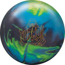 10lb DV8 Turmoil 2 Solid Reactive Bowling Ball NEWEST Black/Royal/Yellow