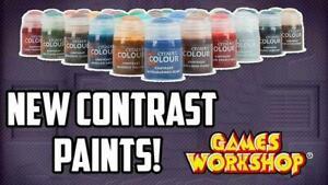 Complete Citadel Contrast Paint Set