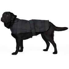 New Blackwatch Checkered British Wax Dog Coat Waterproof Waxed Cotton Raincoat