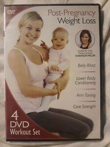 Post-Pregnancy Weight Loss [4 DVD Workout Set]