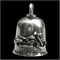 Live To Ride Gremlin Guardian Bell Motorcycle Motorbike Bike Trike Biker Gift