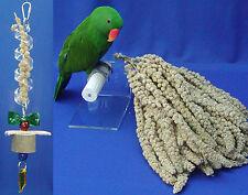 Millet Spray 2 lb for Parrots birds 100% Organic Cert'd - plump & fresh sprays