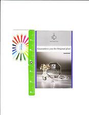 1986 Swarovski Scs pamphlet advertising Old Trade Mark Swarovski Silver Crystal
