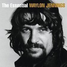 WAYLON JENNINGS ESSENTIAL  2 CD NEW