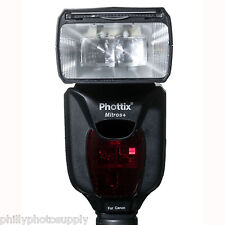 Phottix Mitros+ TTL Transceiver FLash for Canon ->Free US Shipping